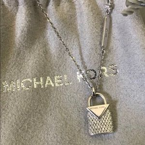 Michael Kors Lock Necklace